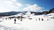 Le ski step by step en Corée