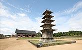 定林寺址五層石塔