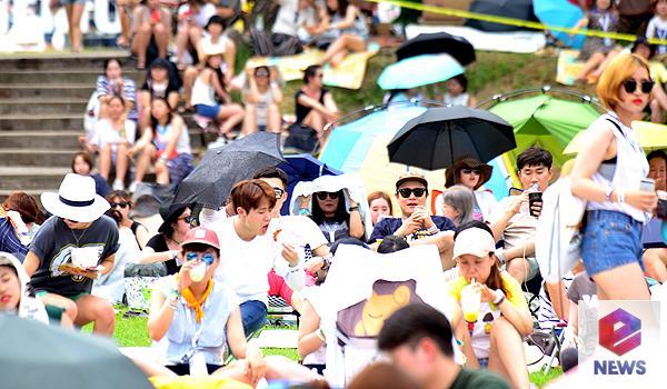 [В фокусе] Жаркий не от погоды, а от эмоций зрителей рок-фестиваль Jisan Valley Rock Music & Arts Festival