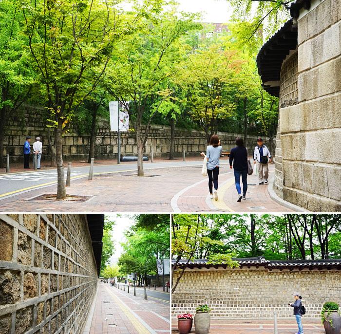 德壽宮石牆路風景