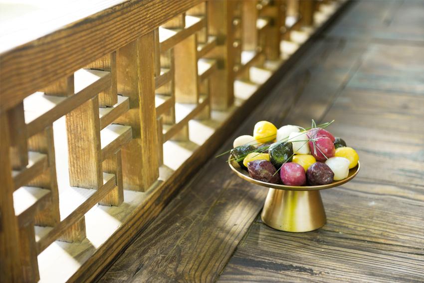 Традиционные праздничные блюда на Чхусок – тток и сонпхён