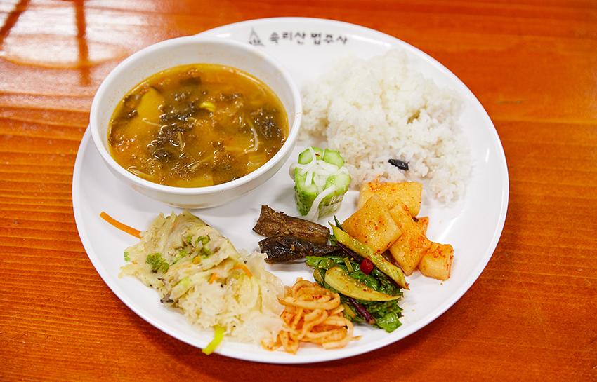 Приём храмовой пищи конъян