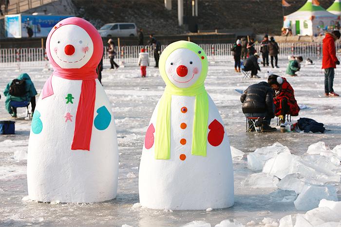 Зимний фестиваль «Ссин-ссин» на острове Чарасом