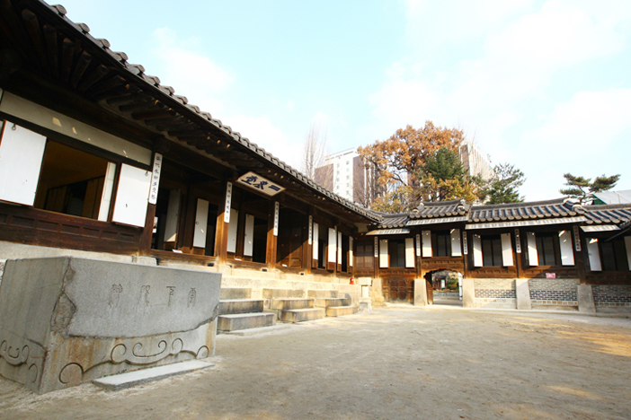 Scenery of Unhyeongung Royal Residence