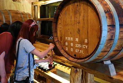 Activiadad de elaboración del vino