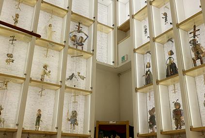 Sala de exposición de marionetas (Cortesía de Pinoseum)