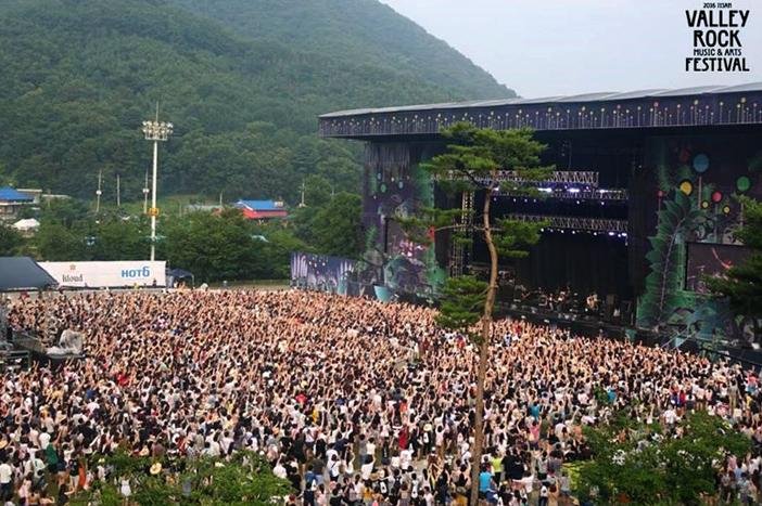 Jisan Valley Rock Festival (Credit: CJ E&M)