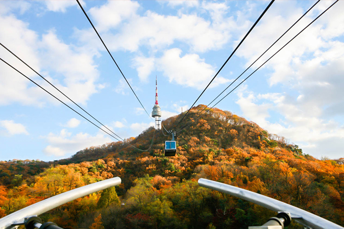 Scenes from Namsan Mountain