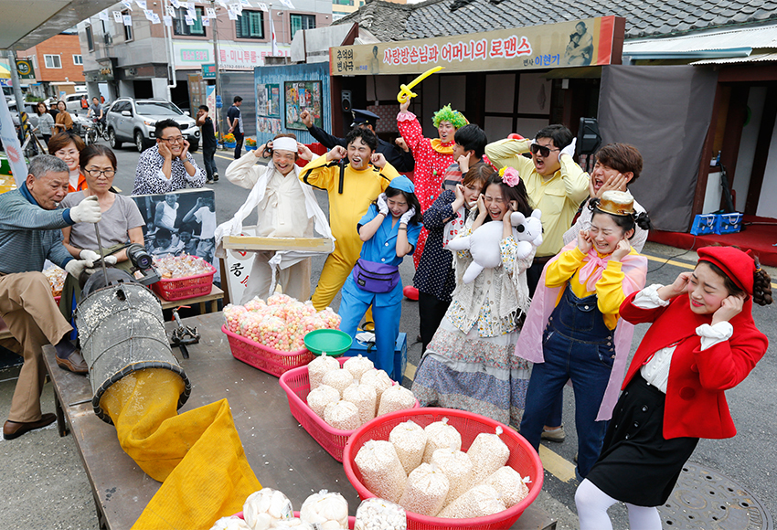 Suwon Hwaseong Cultural Festival event scene (Credit: Suwon Cultural Foundation)