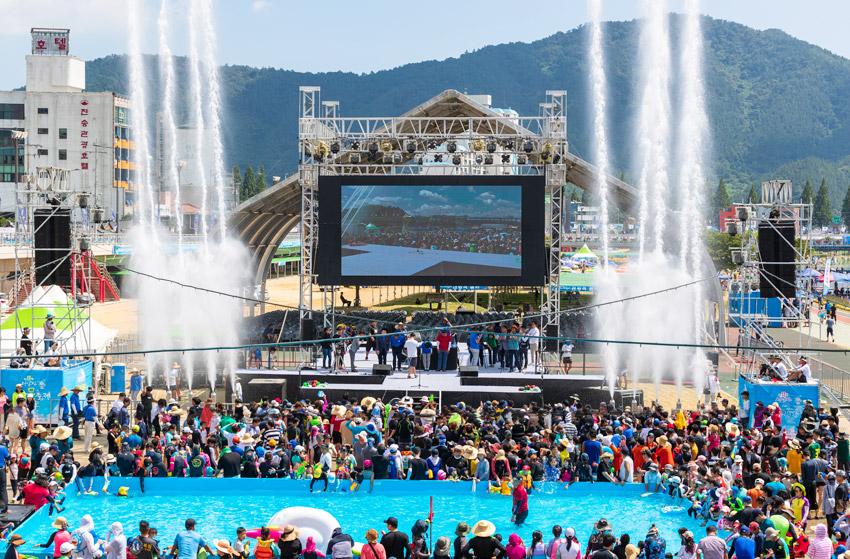 Festival del Agua Jeongnamjin de Jangheung