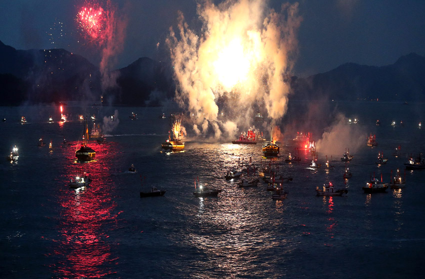 Festival de la Gran Batalla de Hansan (cortesía del comité organizador)