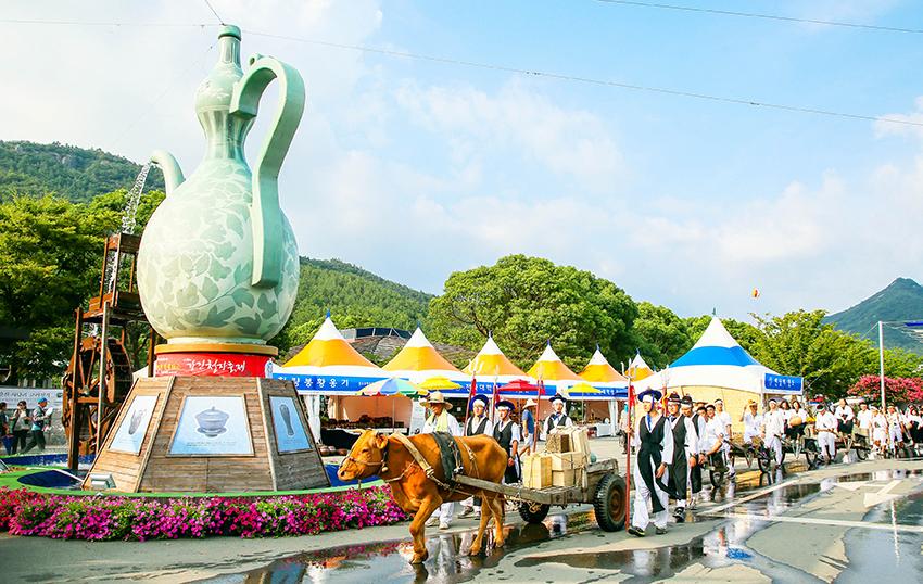 康津青瓷文化節活動現場(圖片來源: 康津郡廳)