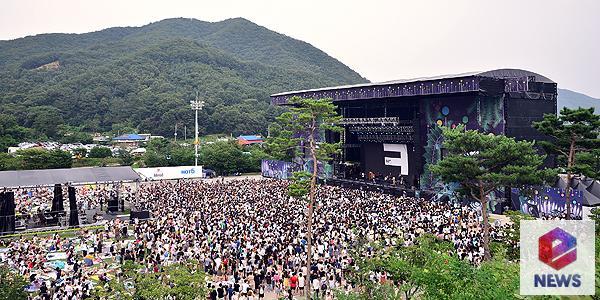 [В фокусе] С места событий: музыкальный фестиваль 2016 Jisan Valley Rock Music & Arts Festival