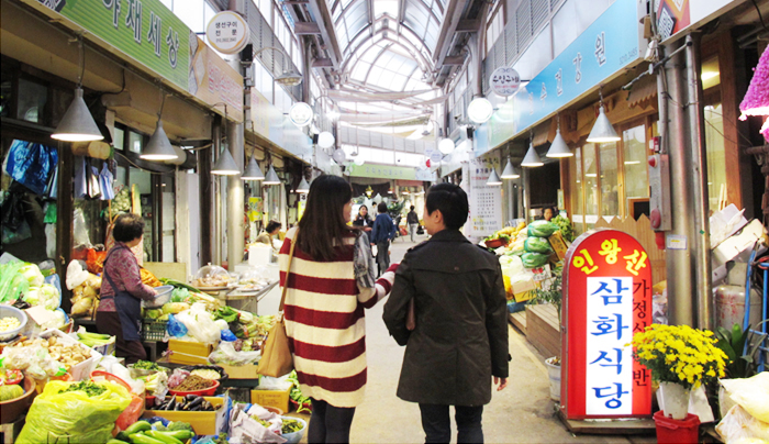 Traditional Markets in Seoul