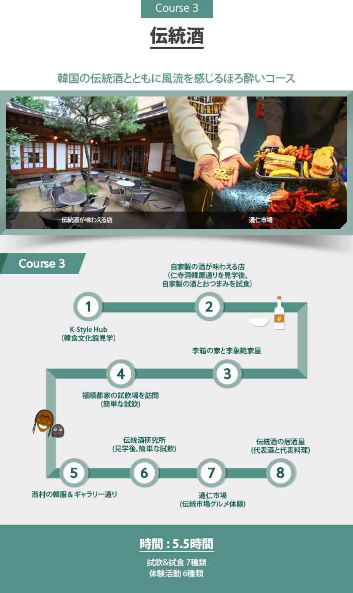 Course 3 伝統酒