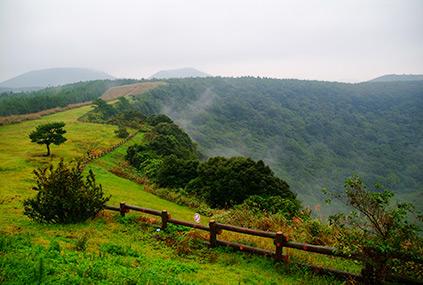 Cráter Sangumburi.