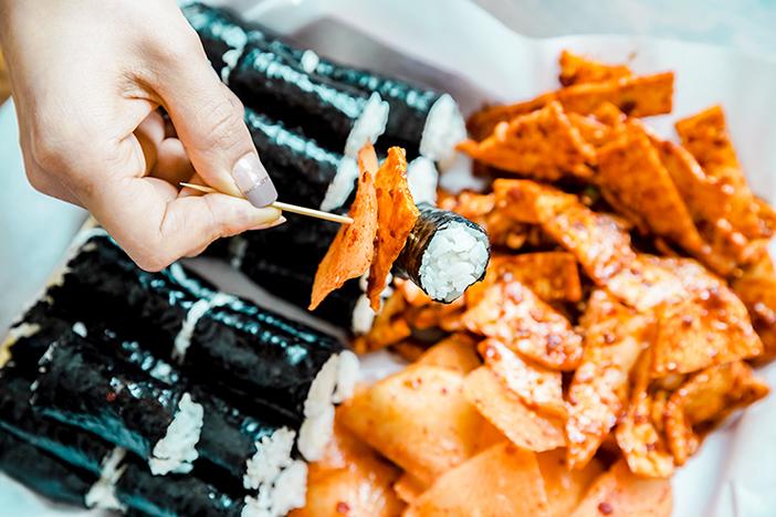 照片) 忠武紫菜包饭