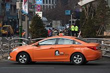 照片) 中型出租车