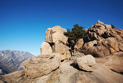 Vistas del monte Seoraksan.