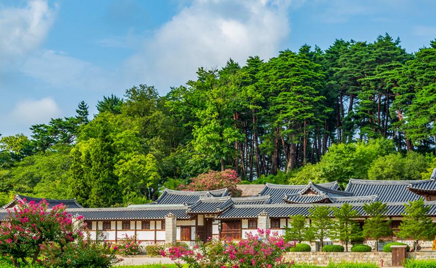 Вид на особняк Сонгёчжан