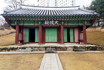 Yonginhyanggyo Confucian School (Credit: Cultural Heritage Administration)