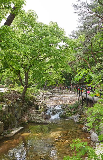 Route Dulle-gil Eunpyeong (parcours Dulle-gil, mont Bukhansan)