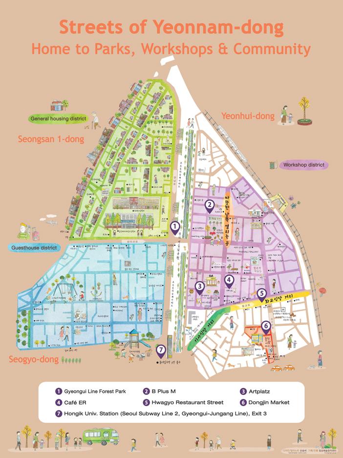 Alleyway Tour of Yeonnamdong Seouls Hippest Neighborhood