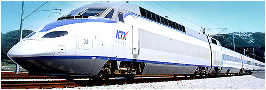 Korea's High-speed Train (KTX) is open for business