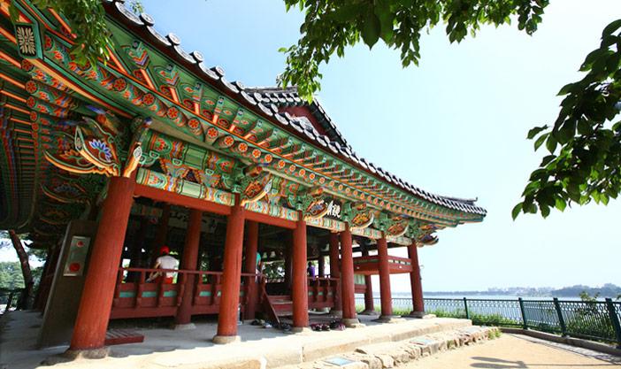 Crédits) Paysages de Gyeongpodae