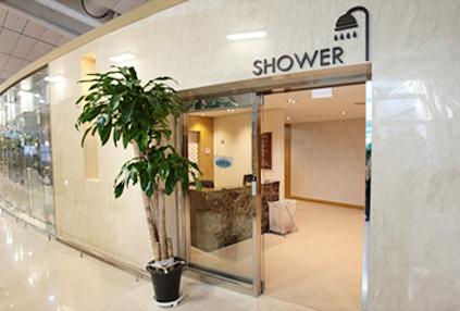 SPA on air與淋浴間(下圖) &仁川國際機場(右下圖))