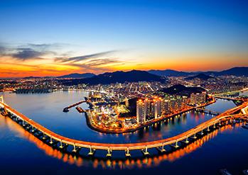 圖片) 釜山廣安大橋全景