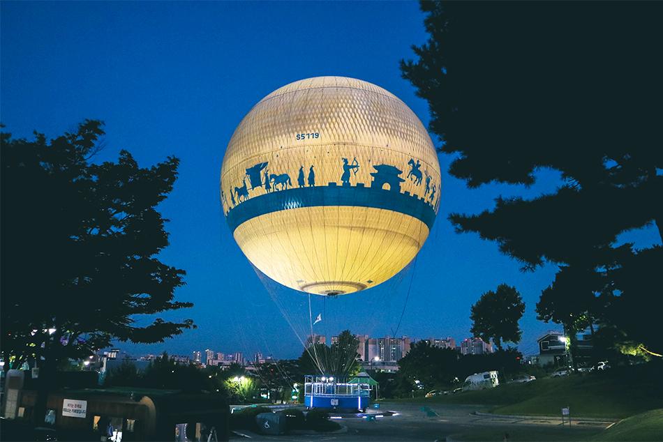 フライング水原の熱気球