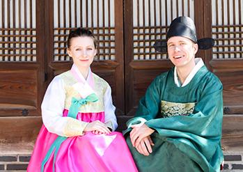 照片) 云岘宫和韩服体验