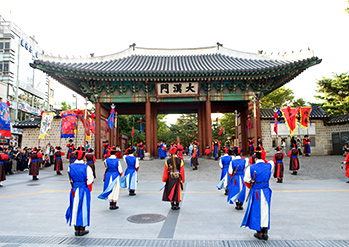 Photo: Deoksugung Palace Changing of the Guards Ceremony