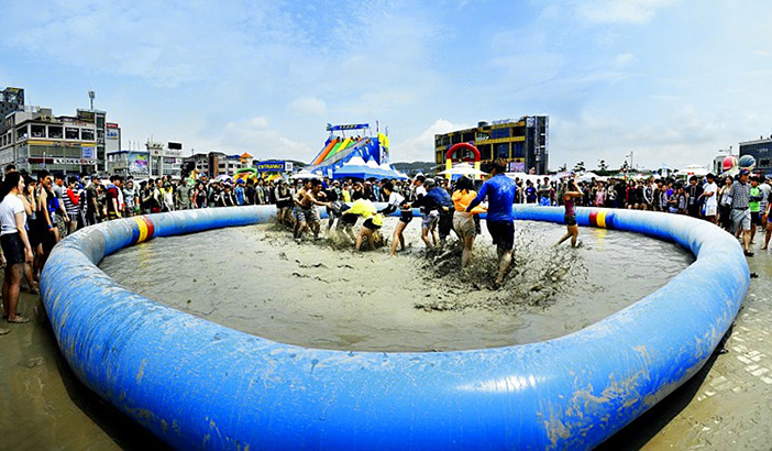 Giant Mud Bath (Credit: Boryeong Mud Festival Organizing Committee)