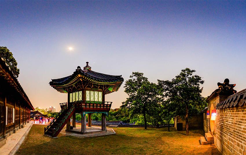 Pabellón Sangnyangjeong (cortesía de la Administración de Patrimonios Culturales)