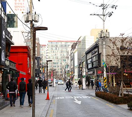 Calle Rodeo de Apgujeong
