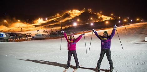 """为滑雪新手们准备的"""" 韩国滑雪之旅""""手册"""