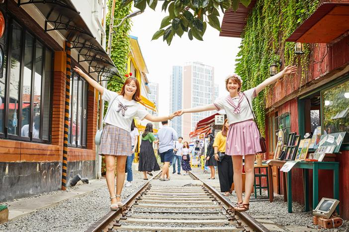 Gunsan Gyeongam-dong Railroad Village