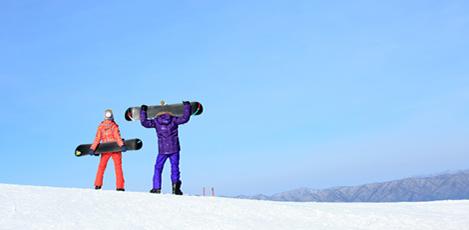 为冬季潮人奉上韩国滑雪度假村!