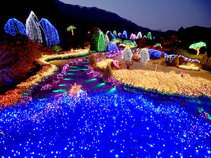 度過浪漫的夜晚,首爾近郊的繽紛燈節!
