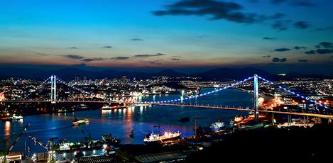 """ステイホームの今だから、おうちで楽しむ韓国の旅<br>韓国の夜景にうっとり """"夜間観光100選""""<br>~釜山・大邱・蔚山・慶尚編~"""
