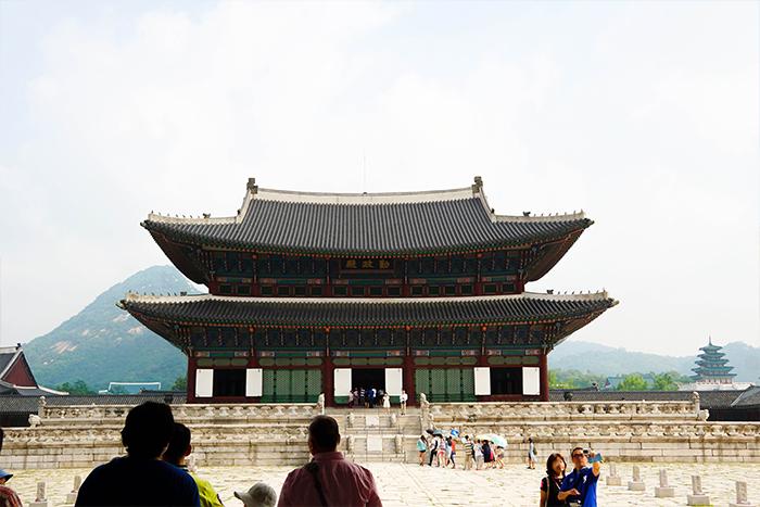 Gyeongbokgung's main hall, Geunjeongjeon Hall