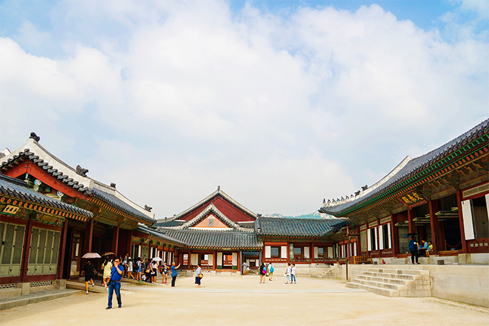 Area of Gyotaejeon Hall
