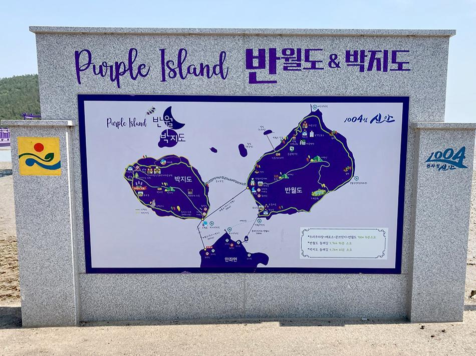 パープル島地図