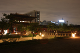 Night view of Gyeongbokgung Palace