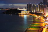 Color Coated Nightscape of Haeundae