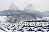 Mt. Maisan in Winter