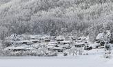 Snow Covered Wanggok Village