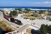 Jeongdongjin Beach Sandglass Park
